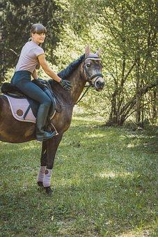 Horsewoman, Horse, Girl, Horseback Riding, Equine, Ride