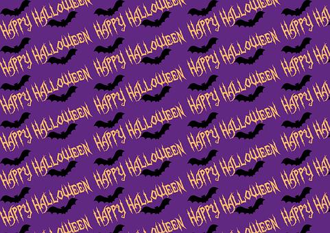 Halloween, Paper, Bat, Sample, Background, Packaging