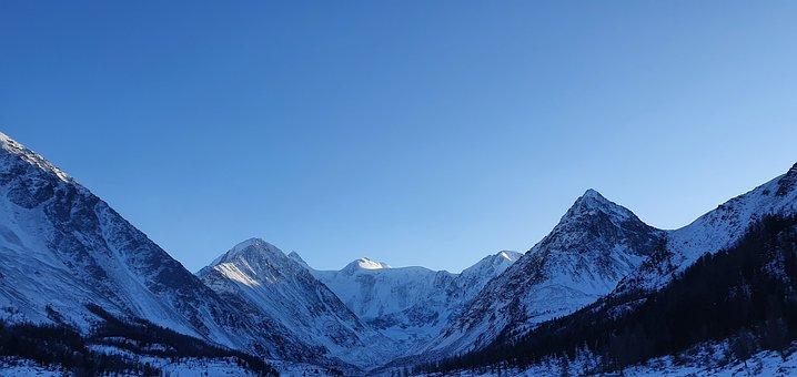 Mountains, Winter, Account, Landscape, Snow