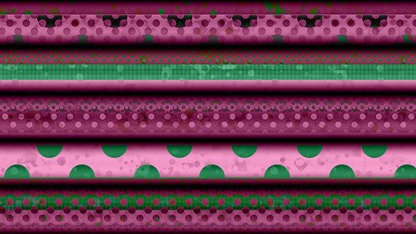 Pink, Fuchsia, Romantic, Valentine's Day, Stripes