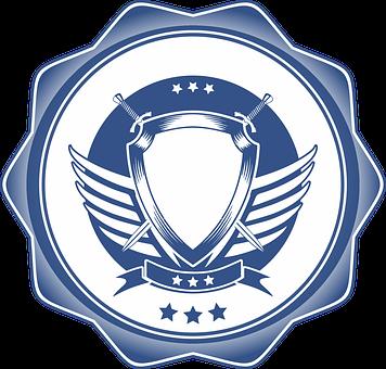 Banner, Warrior, Shield, Emblem, Sword, Knight, Design