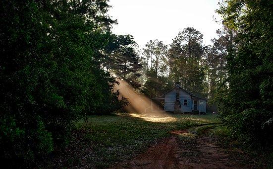 Alabama, Landscape, Dawn, Daybreak, Morning