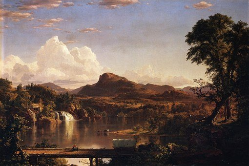 Frederic Church, Landscape, Painting, Art, Artistic