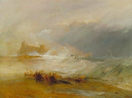 Joseph Turner, Art, Artistic, Painting, Oil On Canvas