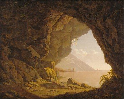 Joseph Wright, Art, Artistic, Painting, Oil On Canvas