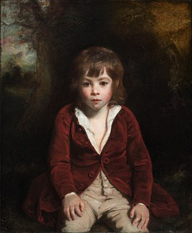 Joshua Reynolds, Boy, Child, Art, Painting