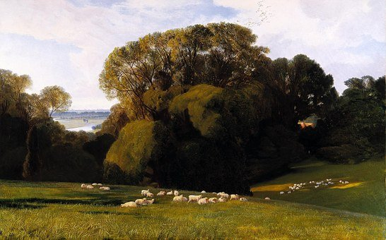 Edward Lear, Landscape, Painting, Art, Artistic