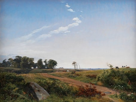 Johan Lundbye, Landscape, Art, Artistic, Painting