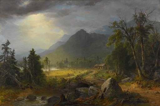 Asher Durand, Art, Artistic, Artistry, Painting