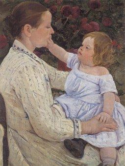 Mary Cassatt, Painting, Oil On Canvas, Art, Artistic
