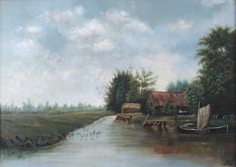 E A Sawyer, Painting, Art, Artistic, Artistry