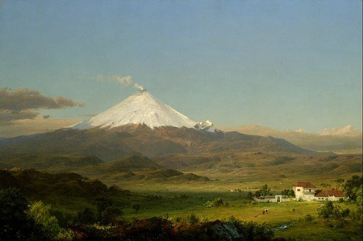 Frederic Church, Landscape, Art, Artistic, Painting