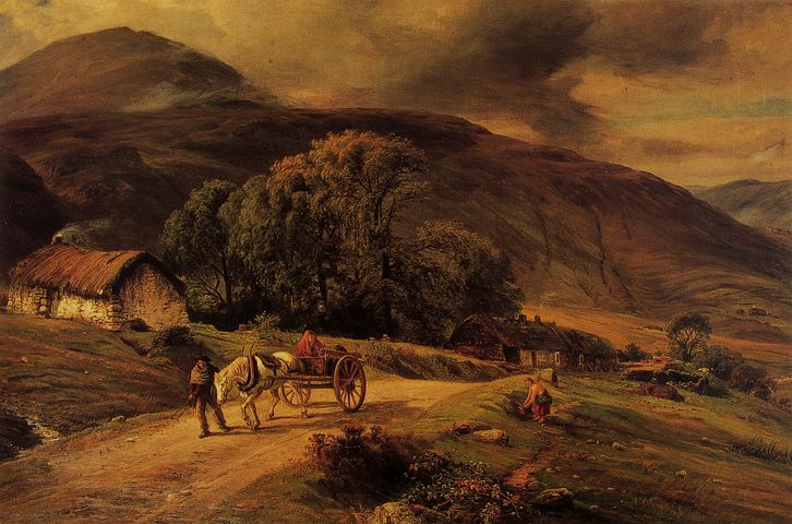 Macwhirter, Art, Artistic, Artistry, Painting