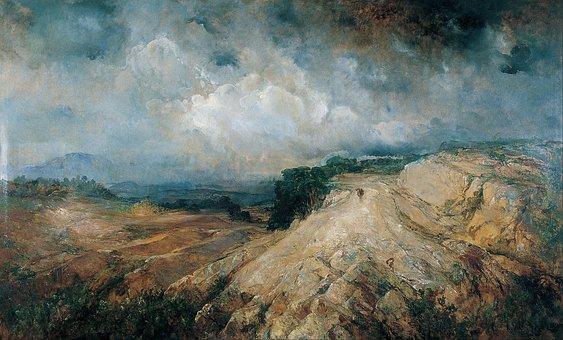 Ramon Alsina, Mountains, Art, Artistic, Painting