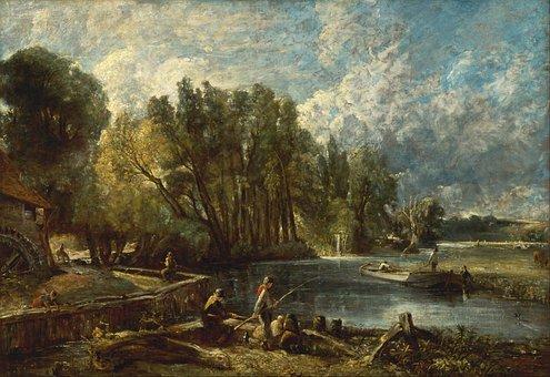 John Constable, Landscape, Art, Artistic, Painting