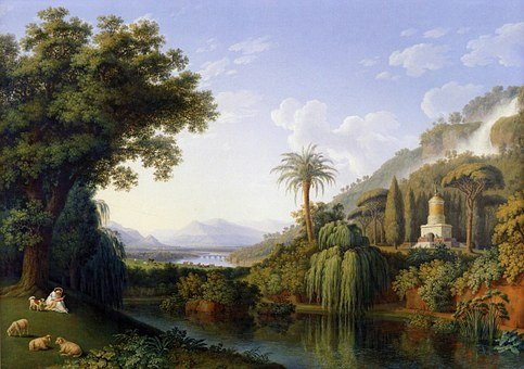 Jacob Hackert, Art, Artistic, Artistry, Painting