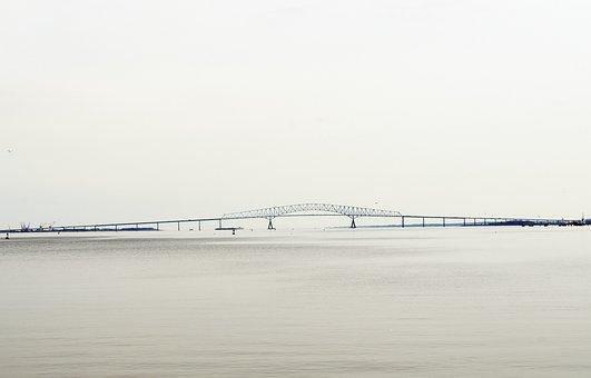 Bridge, Maryland, Baltimore, Francis Scott Key Memorial