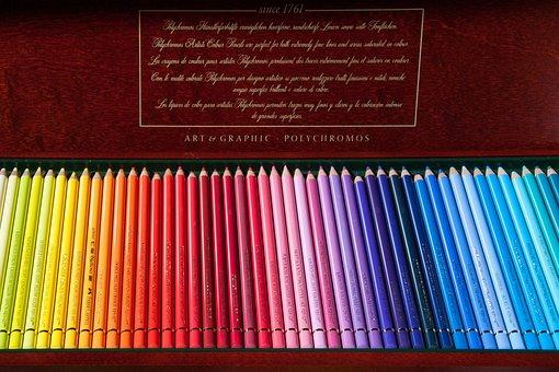 Colored Pencils, Colour Pencils