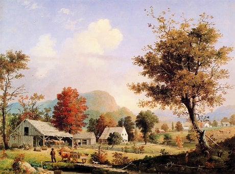 Fredric Church, Forest, Foliage, Painting