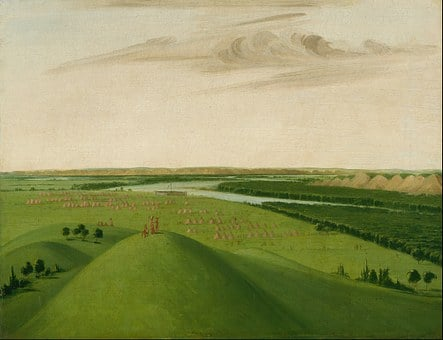 George Catlin, Painting, Oil On Canvas, Artistic