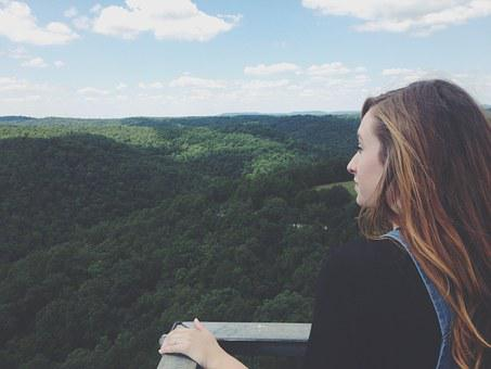 Arkansas, Green, Landscape, Girl, Outdoors, Colorful