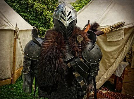 Middle Ages, Armor, Dragon Slayer, Metal, Harnisch