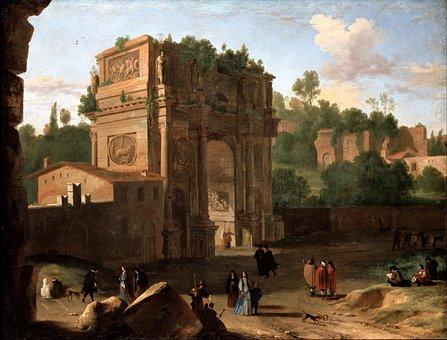 Herman Van Swanevelt, Painting, Art, Artistic, Artistry
