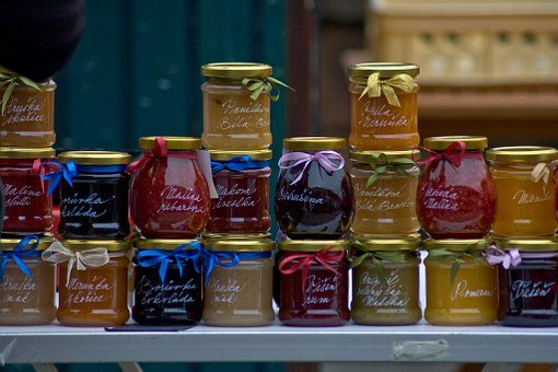 Jams, Marmalades, Farmers Market, Homemade Preserves