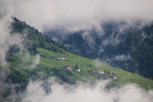 Mountains, Clouds, Holiday, South Tyrol, Bergdorf