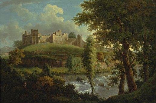 Samuel Scott, Painting, Oil On Canvas, Artistic, Nature