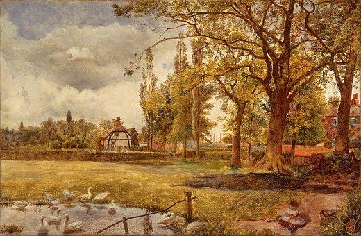 William Davis, Painting, Oil On Canvas, Art, Artistic