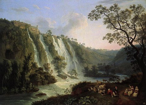 Jacob Hackert, Painting, Art, Oil On Canvas, Artistic