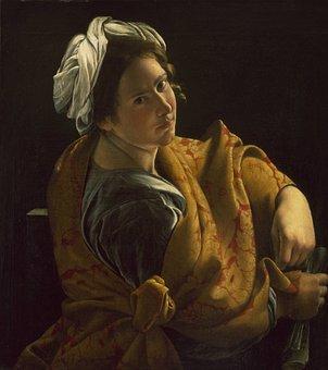 Orazio Gentileschi, Painting, Oil On Canvas, Art