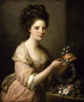Angelica Kauffmann, Art, Painting, Oil On Canvas
