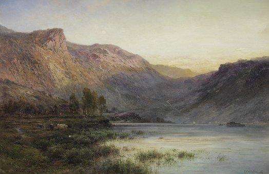 Alfred De Breanski, Painting, Art, Artistic, Artistry