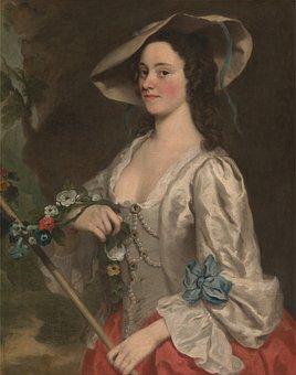 George Knapton, Female, Woman, Art, Painting
