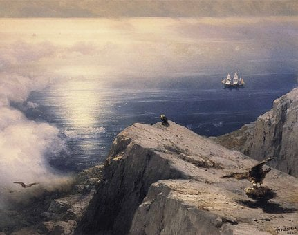 Ivan Constantinovich, Landscape, Painting, Art