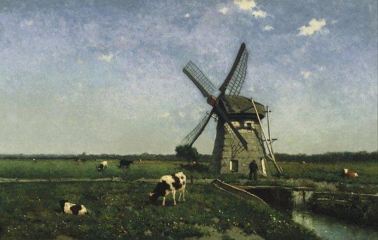 Johannes-hendrik-weissenbruch, Art, Painting
