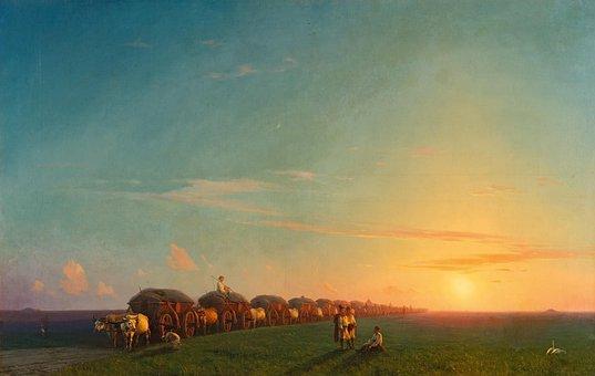 Ivan Alvazovsky, Landscape, Painting, Art, Artistic