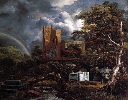 Jacob Ruisdael, Painting, Art, Artistic, Artistry