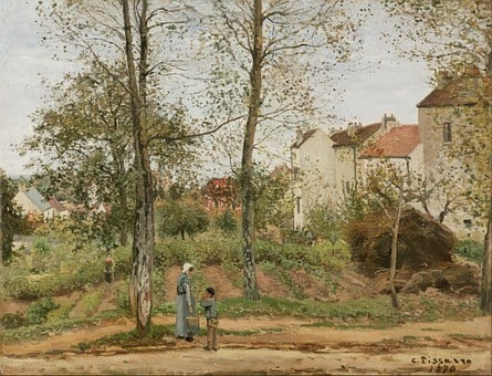 Camille Pissaro, Painting, Oil On Canvas, Artistic