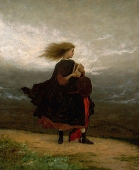 Eastman Johnson, Landscape, Art, Artistic, Painting