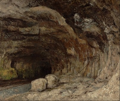 Gustave Courbet, Art, Painting, Oil On Canvas, France