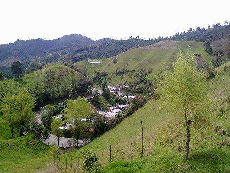 Mesones, Tolima, Beautiful Scenery, Mountains, People