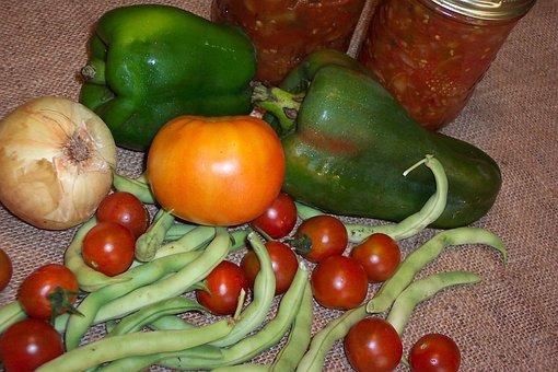 Harvest, Canning, Preserves, Preserving, Garden