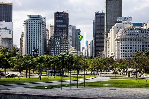 City, Square, Monument, Wonderful City, Rio De Janeiro