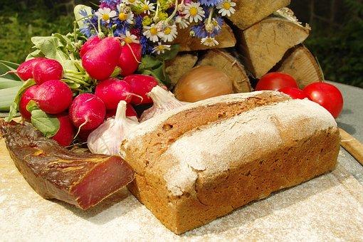 Kastenbrot, Farmer's Bread, Whole Wheat Bread