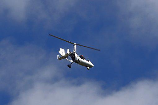 Helicopter, Flying, Aircraft, Rotor, Sky, Flight