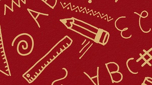 Back To School, Education, Learning, Preschool, Doodle