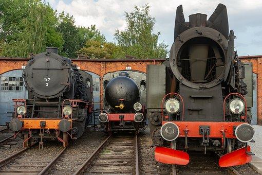 Locomotives, Steam, Locomotive, Train, Steam Locomotive